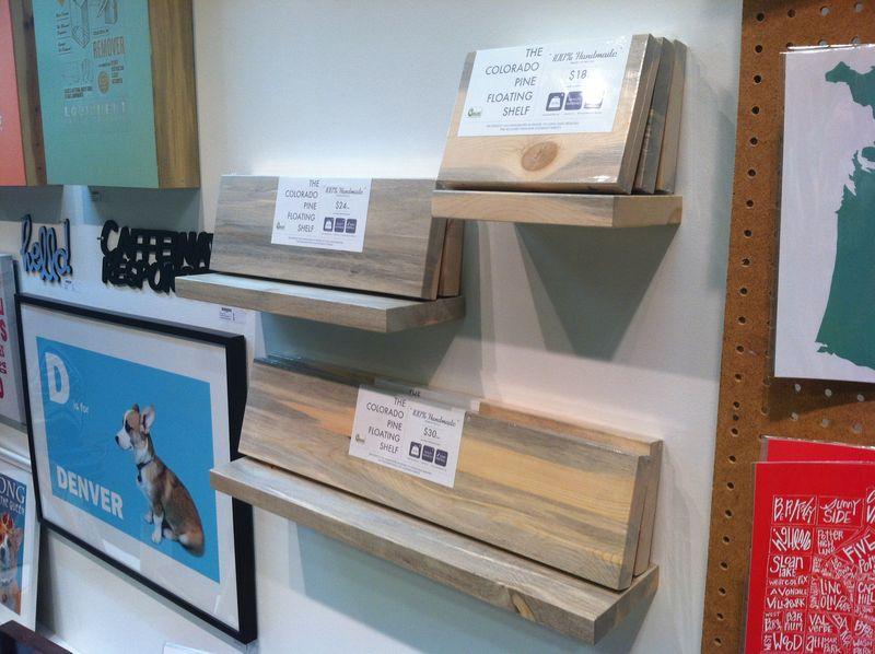 Floating Shelves - IHD